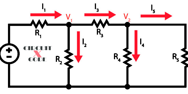 Nodal Analysis for AC Circuits | Circuit X Code