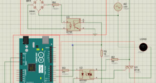 Light Dimmer Circuit with Arduino